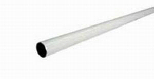 CURTAIN ROD WHITE POLY RESIN