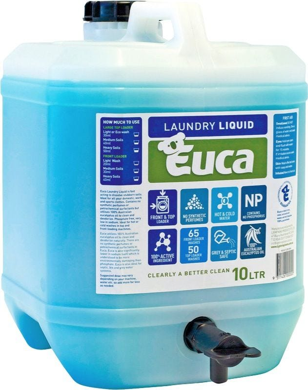 EUCA LAUNDRY LIQUID 10LT