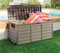 OUTDOOR STORAGE BOX PORTABLE MOCHA 280LT
