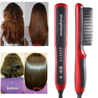BlushVille™ Hair Straightener Brush