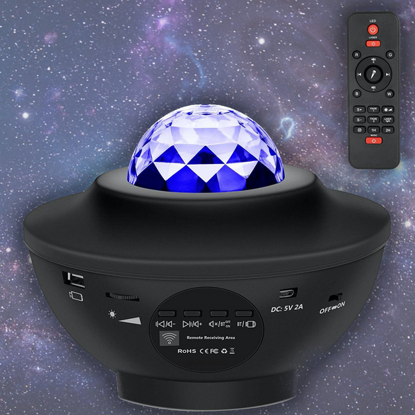 AuraMoon™ Galaxy Projector