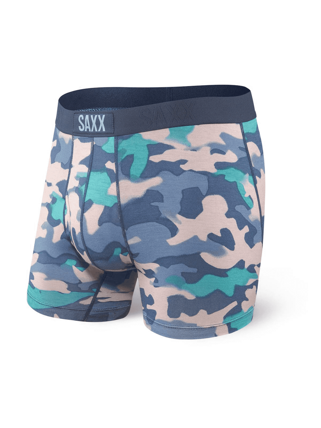 Saxx Ultra Boxer Brief - Pink/Blue Camo
