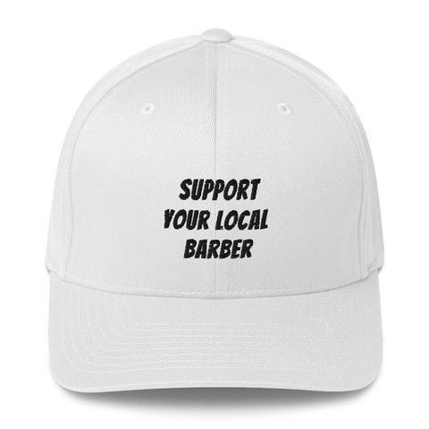 Support Your Local Barber Cap