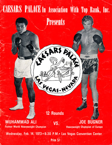 Muhammad Ali / Joe Bugner I Program