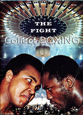 Muhammad Ali-Joe Frazier I Press Kit (1971) | Boxing Memorabilia, Collectibles, Treasures