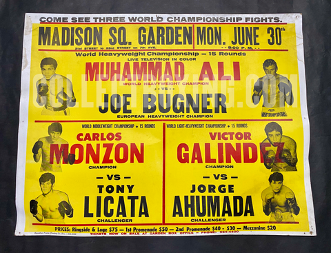 Muhammad Ali vs Joe Bugner II