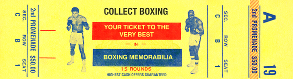 Collect Boxing - Boxing Memorabilia