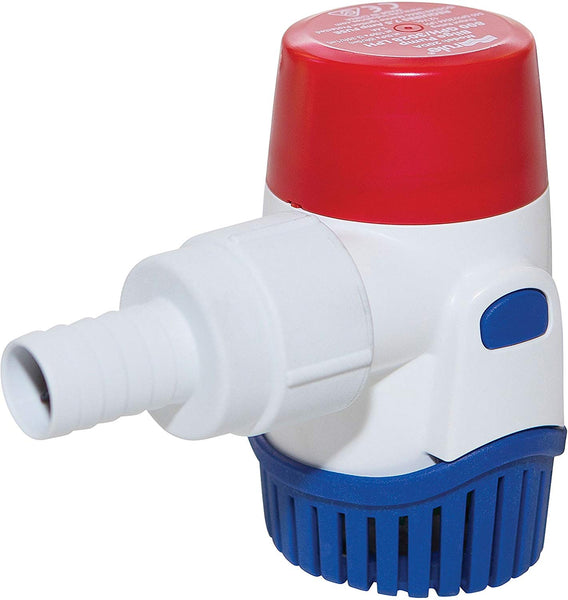 Rule 800 GPH Submersible Bilge Pump, Round