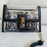 Sac pochette transparent