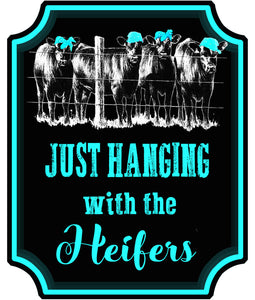 Hanging with Heifers