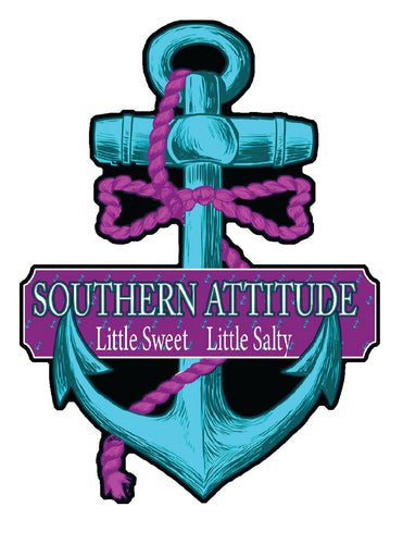 Salty Anchor Decal