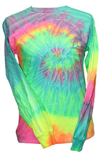 Load image into Gallery viewer, Deer Moon - Tie Dye Minty Rainbow