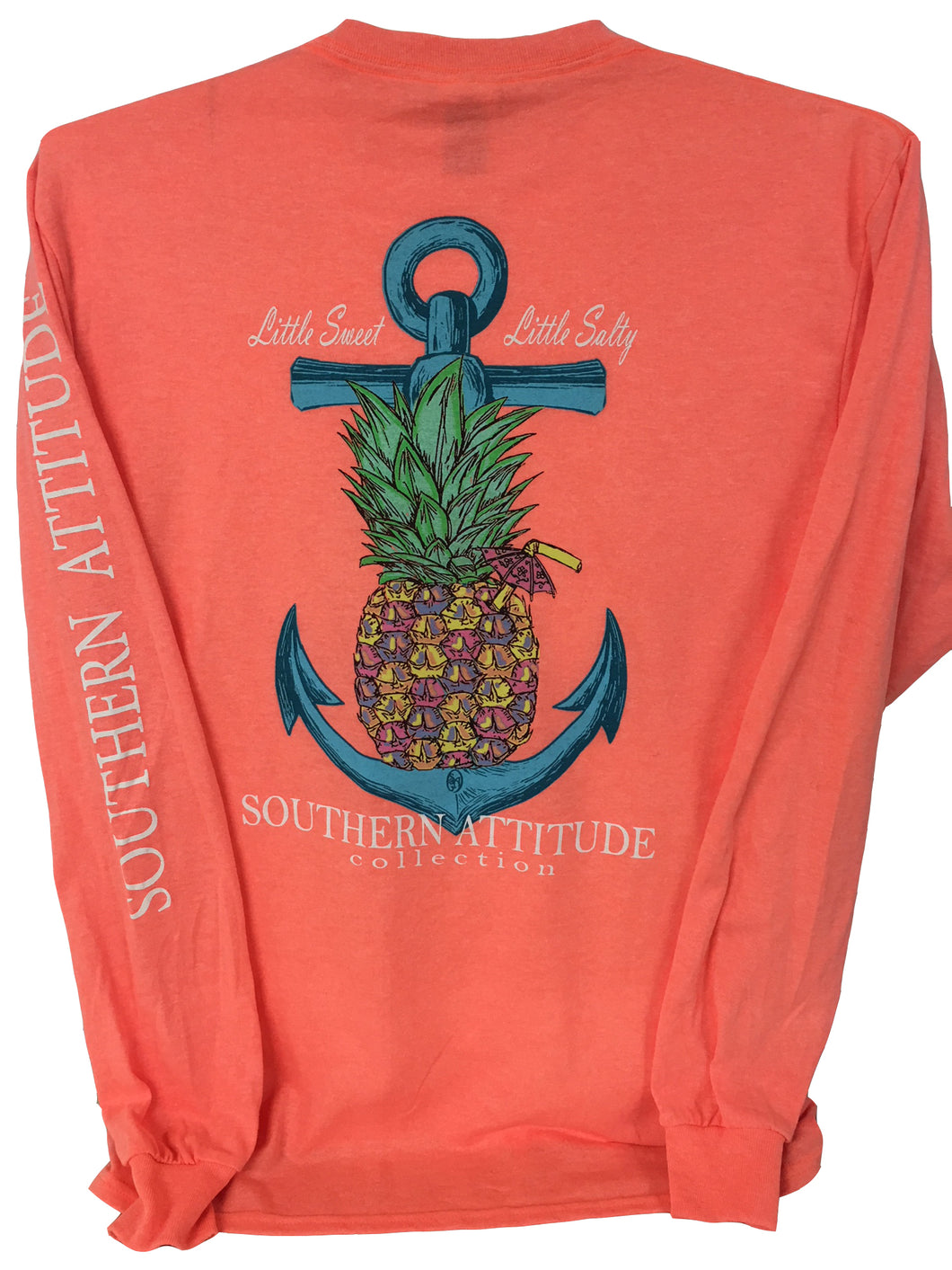 Pine Anchor - Bright Coral
