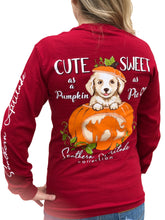 Load image into Gallery viewer, Pumpkin Dog - Cardinal Red