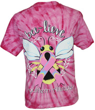 Load image into Gallery viewer, S-289 Bee-Lieve - Tie Dye Spider Pink