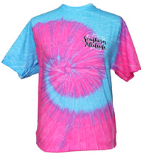 Load image into Gallery viewer, Lil Mean - Tie Dye Flo Blue/Pink