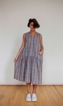 EASY DRESS - PLAID