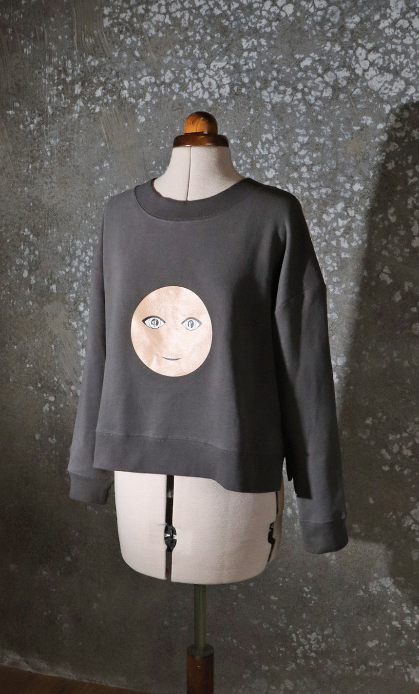 Greatfool Face Sweater