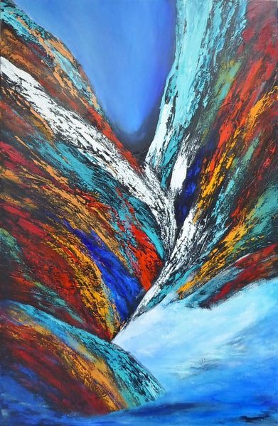 Amazing Outback, Acrylic Painting by Clare Riddington Jones Artist