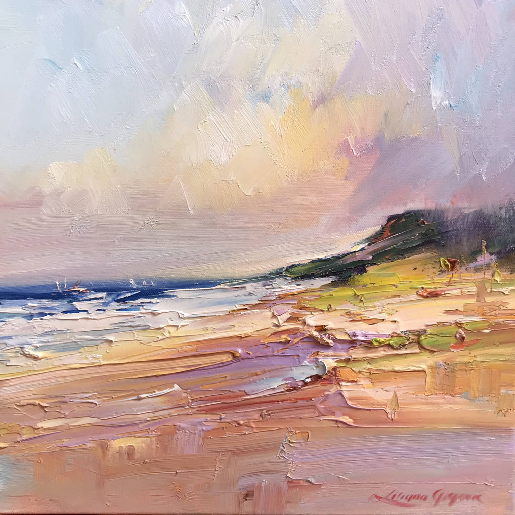 Fraser Island No 5, Oil Painting by Liliana Gigovic Artist