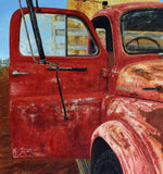 End Of The Road, Oil Painting by Luna Vermeulen Artist