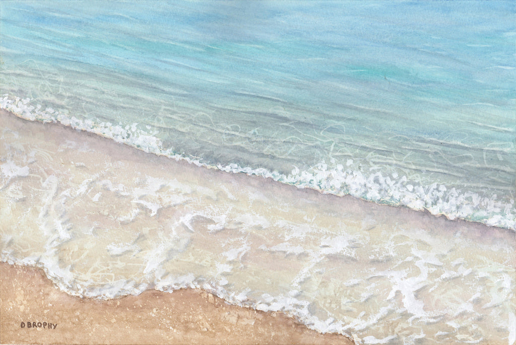 Calm (sold), Watercolour Painting by Debbie Brophy Artist