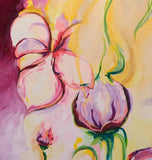 Polygala, Acrylic Painting by Anne-Maree Wise Artist