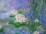 Lily Pond, Acrylic Painting by Lisa Dangerfield Artist