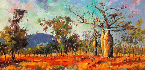 Kimberley Country, Acrylic Painting by Jos Coufreur Artist