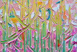 Tall Trees No.14, Acrylic Painting by Joseph Villanueva Artist