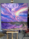 Sunset at the Lake - Art Selectors Gallery