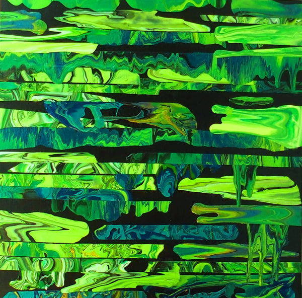 Jungle, Acrylic Painting by Julee Latimer Artist