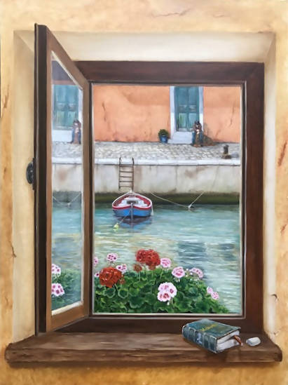 Memories, Oil Painting by Gerard Maille Artist