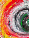 INTO THE VORTEX, Acrylic Painting by Rick Smith Artist