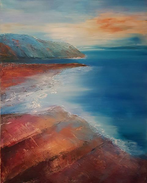 Morning Light, Acrylic Painting by Clare Riddington Jones Artist
