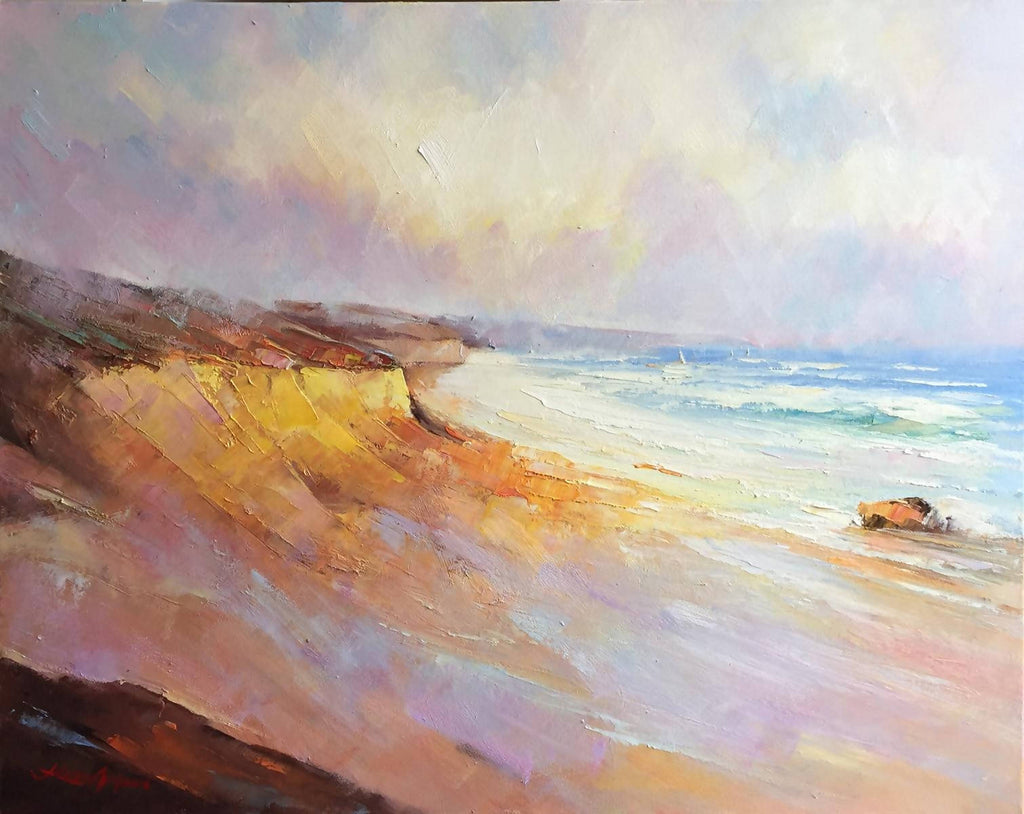 Port Campbell No 3, Oil Painting by Liliana Gigovic Artist