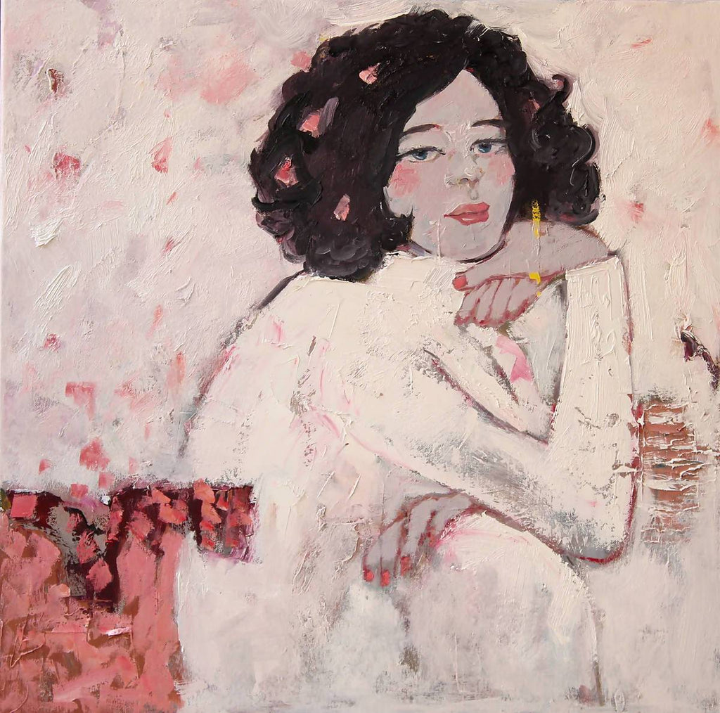 Her, Oil Painting by Li Zhou Artist