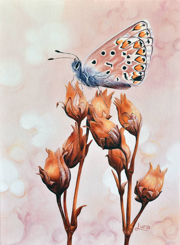 A Touch Of Summer, Oil Painting by Luna Vermeulen Artist