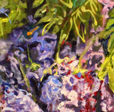 WISTERIA ABOR 1, Oil Painting by maureen finck Artist