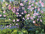 VIMLAN'S GARDEN, Oil Painting by maureen finck Artist