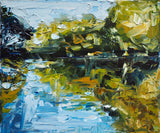 The Study Of Reflection, Oil Painting by Michelle Keighley Artist
