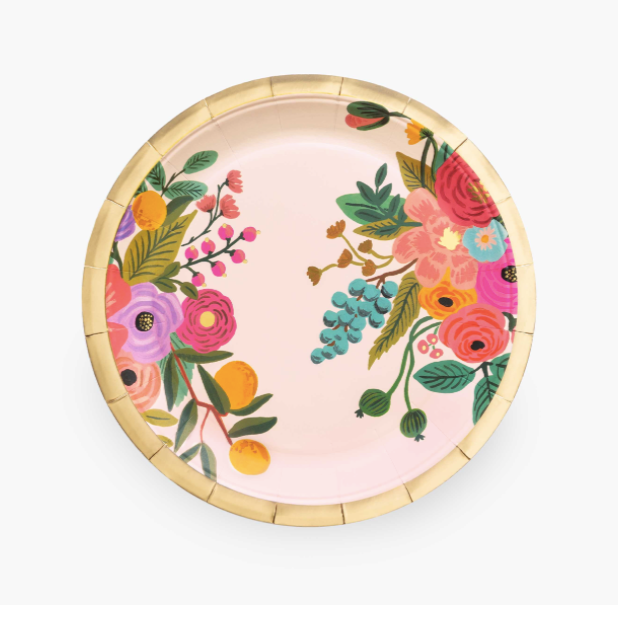 Garden Party Paper Plates, LG