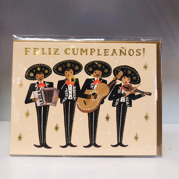 Mariachi Greeting Card