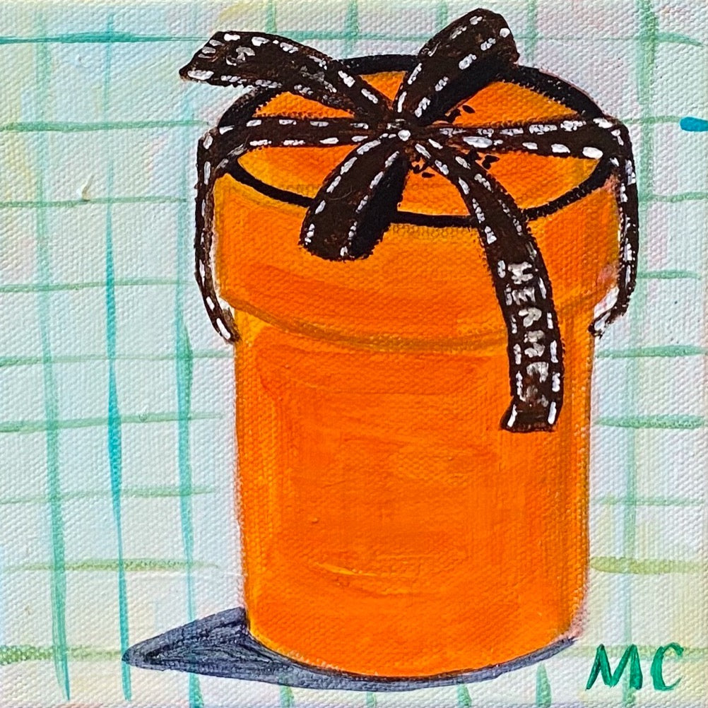 """Fancy Box"" painting by Mindy Carpenter"
