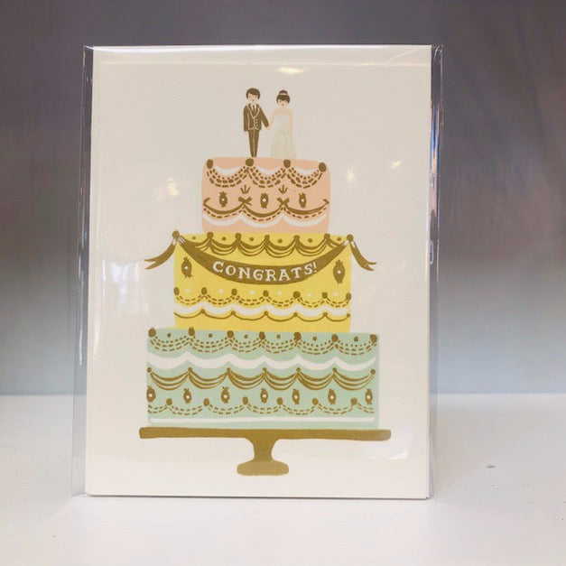 Congrats Cake Greeting Card