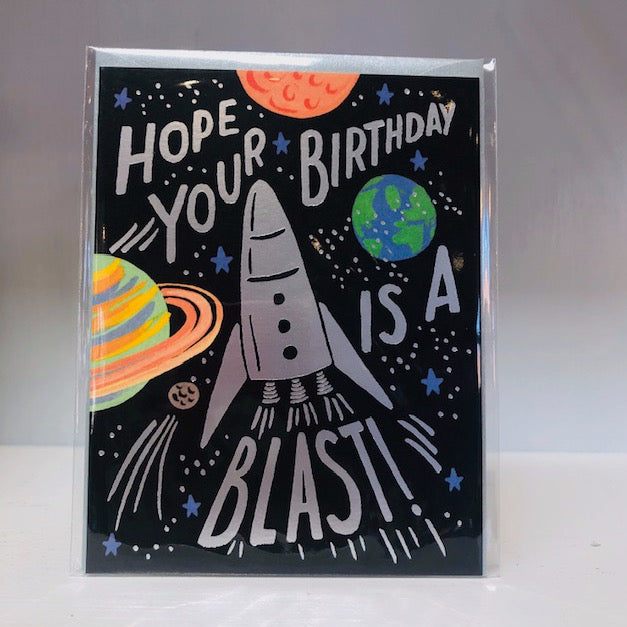 Birthday Blast Greeting Card
