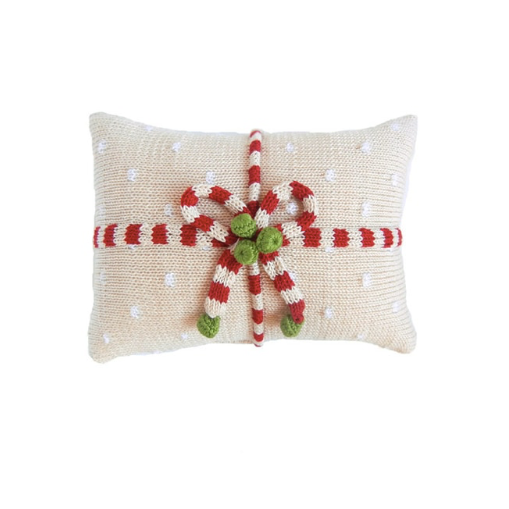Gift Mini Pillow, Ecru