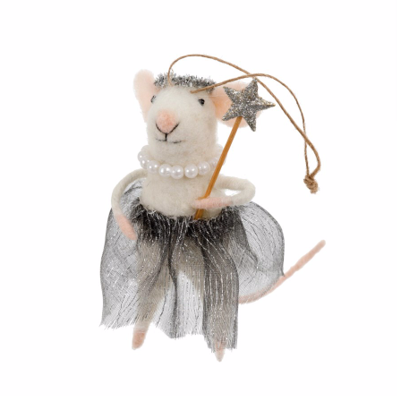 Ballerina Betty Mouse Ornament