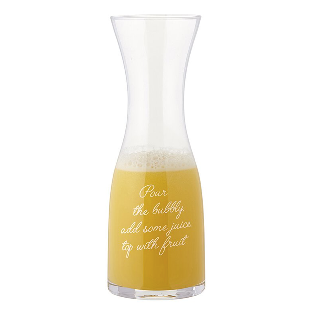 """Pour the Bubbly"" Carafe"