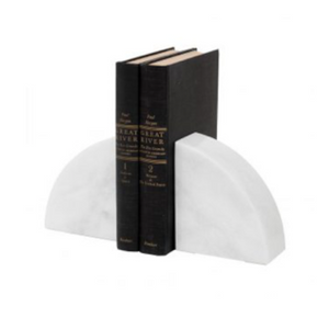 Marble Bookends, Rounded